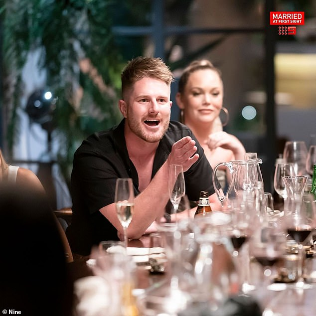 Complaints: The seventh season of Married At First Sight Australia is set to become the most-criticized season of the series.  The Australian Communications and Media Authority (ACMA) has received 54 formal complaints so far.  Pictured: MAFS star Bryce Ruthven