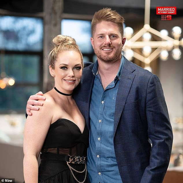 Statement: `` A significant proportion of the complaints alleged that the program included personally abusive exchanges between participants through gas, social, verbal and mental violence and that the program perpetuated and promoted the theme of domestic violence '', an ACMA spokesperson said in a statement.  Pictured: Melissa Rawson and Bryce Ruthven
