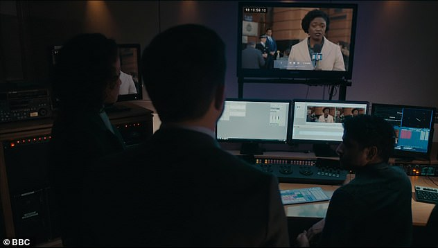 Flashback:AC-12's Steve, Chloe and Hastings are seen trawling through old footage of Vella's with one story she had been covering linked to Osborne's actions in season one