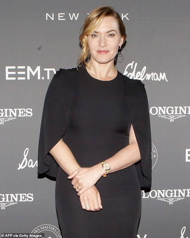 Uncomfortable: Kate Winslet revealed on Monday that she felt objectified when filming sex scenes at some points in her long and successful career as an A-list actress