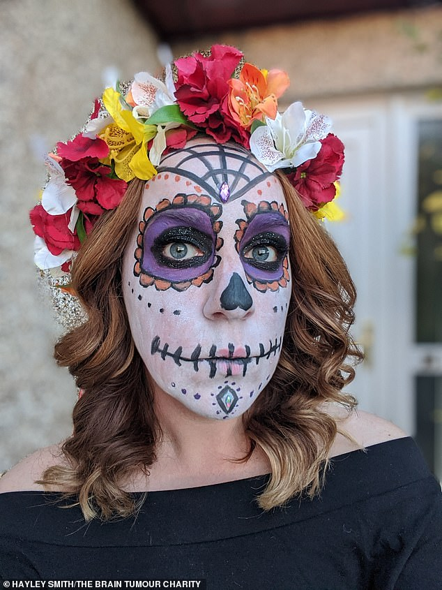 The couple celebrated Halloween in 2020 with a Day of the Dead theme, a traditional festival in Mexico, a couple of days after Matt got out of hospital following a second operation, which took 10 hours, to remove a tumour which grew back