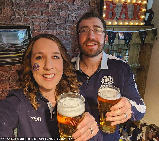 The couple love traveling and socialising, but this has been curtailed by Covid-19 so the pair have been bringing the international home since April 2020