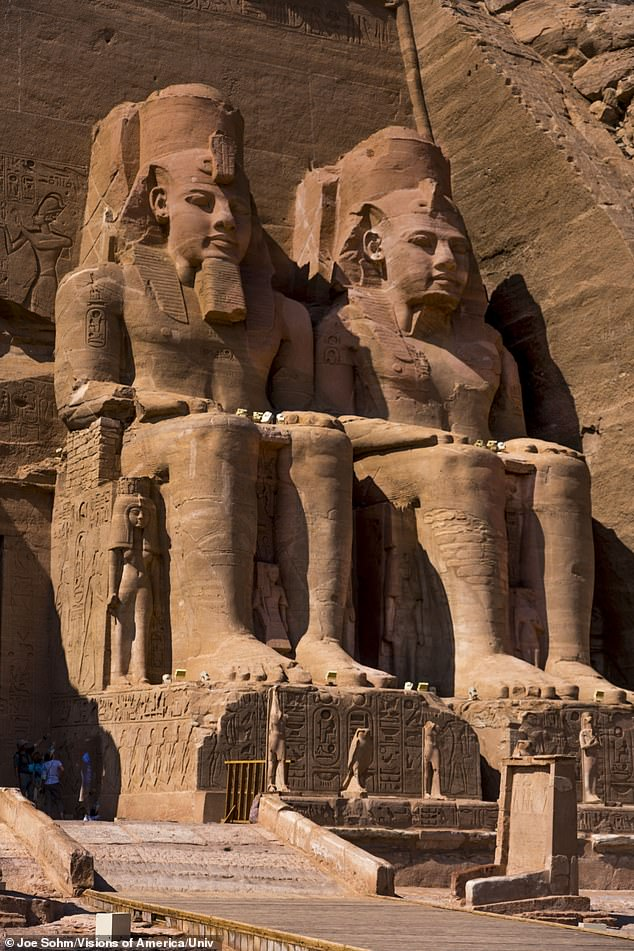 King Ramesses II, also known as Ramses the Great, was the most powerful and celebrated ruler of ancient Egypt. He is remembered principally for the colossal statues he commissioned and for his massive building program (pictured)