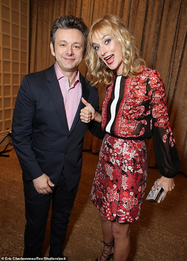 Ex: Caitlin is best known for her role in US drama, Masters Of Sex from 2013-2016. She played Libby Masters, the wife of sex therapist Dr William Masters, played by Michael Sheen - who she dated (pictured 2015)