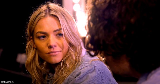 Break:Network Seven's popular soap Home and Away will also be on hiatus. Pictured Sam Frost