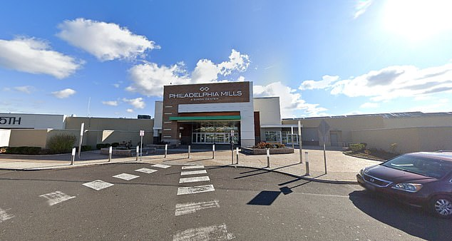 People inside the mall locked themselves in individual stores as police locked down the entire facility. They were later escorted out by officers