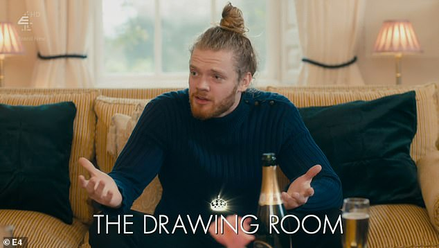 Give us a clue: Being in this house is a bit like a game of Cluedo – each scene is subtitled as per the room it is taking place in
