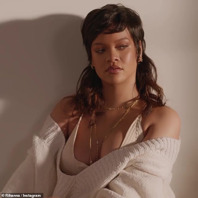 Business savvy: Meanwhile, Rihanna is looking to expand her phenomenally-successful fashion and beauty empire. She recently filed legal documents to trademark an array of haircare products under the name of Fenty Hair