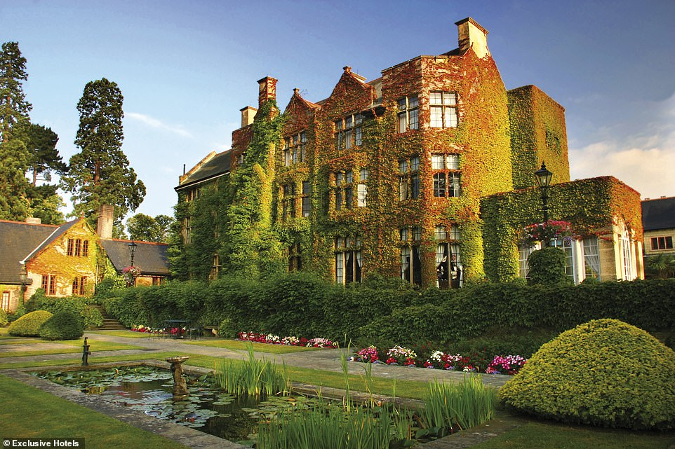 Pennyhill Park, pictured, is set in 120 acres of Surrey countryside so you will have plenty of space