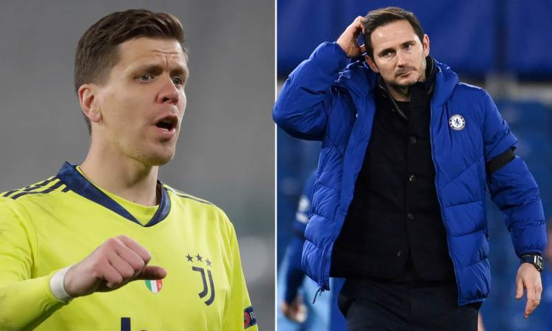 Frank Lampard was 'interested' in bringing Wojciech Szczesny to Chelsea last summer | Daily Mail Online