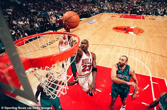 Chicago Bulls legend Michael Jordan suffered a nasty gash to his finger from a cigar cutter