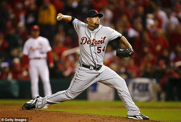 Detroit Tigers pitcher Joel Zumaya had a sore wrist from playing too much Guitar Hero