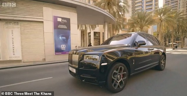 While he drove her around in a £250,000 Rolls Royce Cullinan in Dubai, the mother-of-three admitted: 'You were snoring like a gorilla last night'