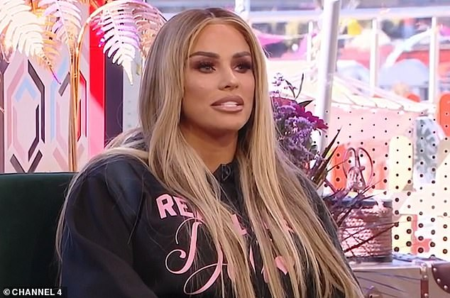 Split: Katie Price has continued to insist she still she doesn't know the real reason why her marriage to Peter Andre broke down (pictured last week)