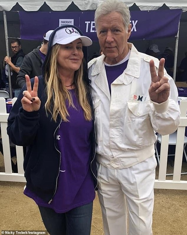 Raising awareness of pancreatic cancer: The singer has been actively working to keep her father's memory alive by creating a team for PanCAN's virtual Purple Stride Walk