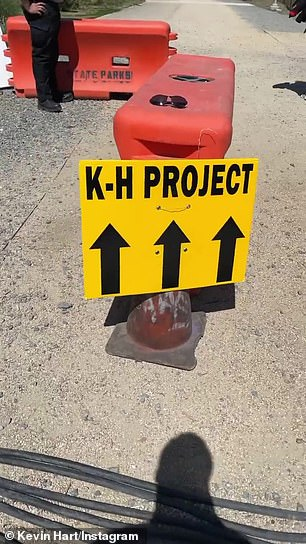 He said it was the little things, like a sign on set reading 'K-H Project,' that made him happy