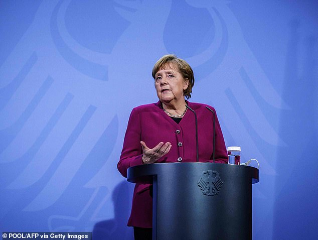 German Chancellor Angela Merkel held a crisis meeting with state governors amid fresh concern over unusual blood clots last week