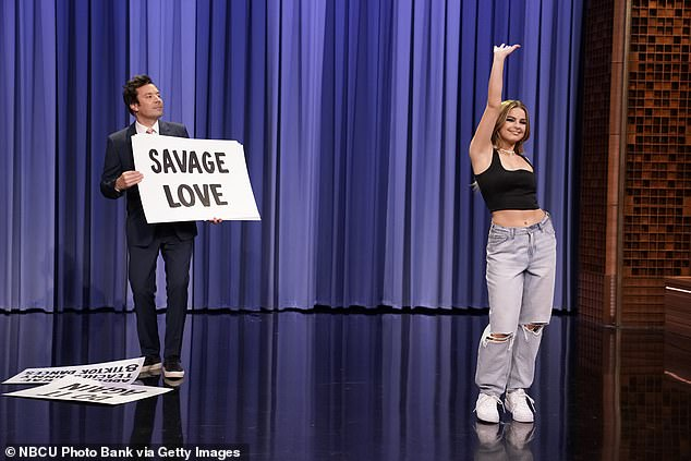 Controversy: One user pointed out one of Addison's previous controversies of going on Jimmy Fallon to perform dances which were choreographed by Black TikTok creators - whom they failed to credit - back in April