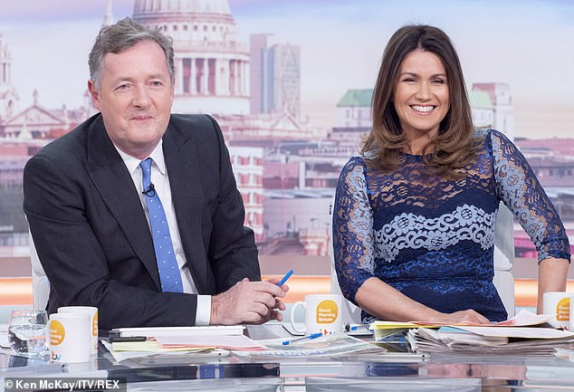 Changes: The presenter will allegedly continue her role as host alongside rotating co-stars as bosses rush to ensure she doesn't follow Piers (pictured) by quitting