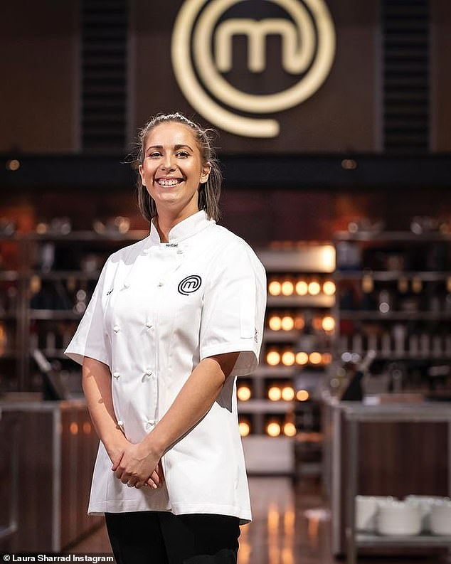 Runner-up: Laura missed out on winning MasterChef: Back to Win last July, placing second to Emelia Jackson. As runner-up, she was awarded $30,000 to help grow her business