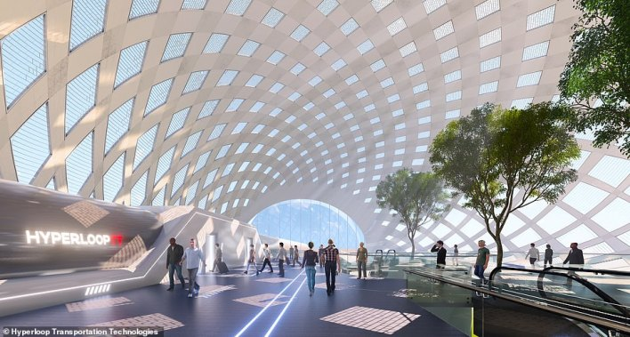 The in-line station will offer a self-boarding platform and responds to harness natural light, air flow, heating and cooling