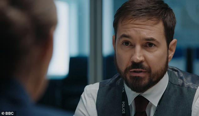 RIP? Line of Duty's Craig Parkinson has predicted that DI Steve Arnott (pictured played by Martin Compston) could meet a grisly end in series six