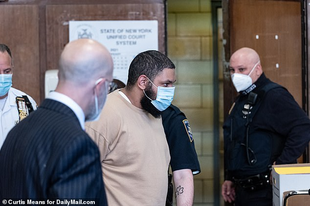 Santos was charged with four counts of murder, one count of attempted murder and unlawful possession of marijuana when he was arrested in October 2019