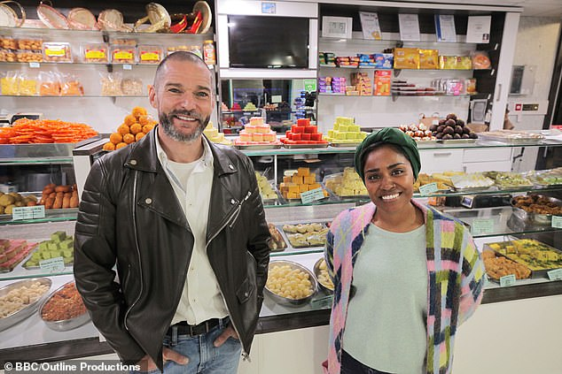 Nadiya Hussain (pictured with co-host Fred Sirieix) was in her element on Remarkable Places to Eat as duo visited Harrogate and Leeds in Yorkshire exploring the county's various eateries