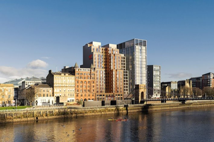 Guests at Virgin Hotel Glasgow (above) will have at their disposal Virgin's signature culinary experience, Commons Club - ¿a restaurant, bar and modern social club¿