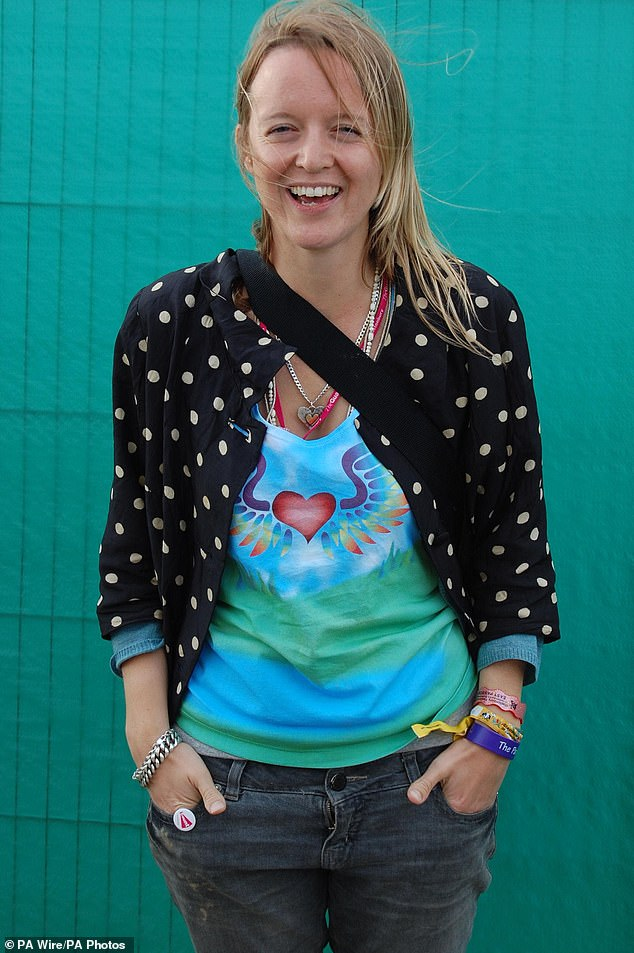 Big plans: Emily Eavis broke the news in an interview with Radio 2 host Dermot O'Leary on Wednesday morning