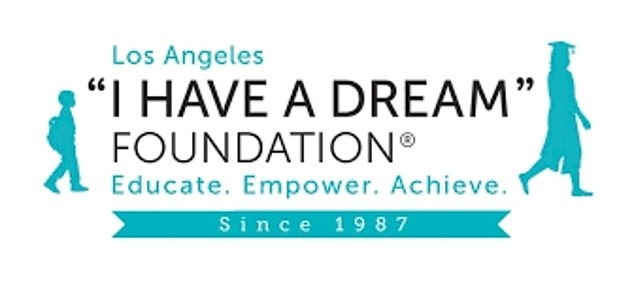 The act of kindness was organized by LA Works and the I Have a Dream Foundation, which aims to ensure children have the possibility to achieve higher education (pictured)