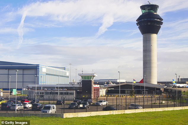 Passengers were sent back to Manchester Airport (pictured) with their luggage only due to follow four days later in an additional setback