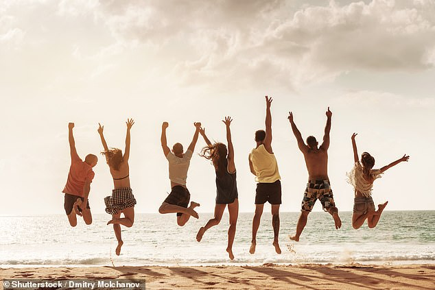 Posting images of jumping on the beach on social media is the pet hate of 23 per cent of those quizzed in the study and comes joint fifth