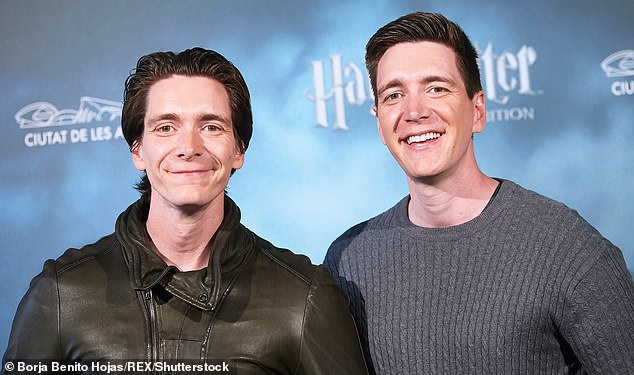 Brothers off-screen and on screen, twins Oliver (pictured left) and James Phelps (pictured right), who starred in the Harry Potter series seem equally popular in the world of Cameo