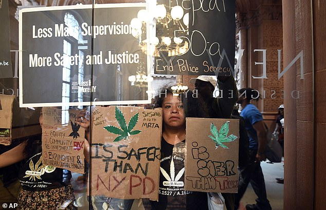 The bill allows anyone previously convicted of possessing an amount of marijuana under the new legal limit will automatically be eligible to resentencing