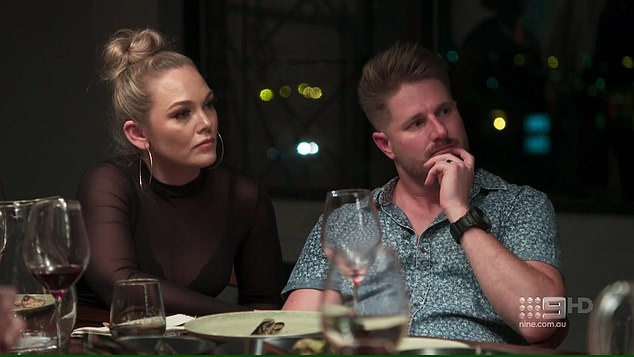 Act of defiance: Married At First Sight's Melissa Rawson (left) will finally stand up to her gaslighting husband Bryce Ruthven (right) during finale week