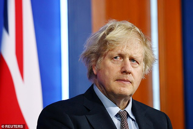 Prime Minister Boris Johnson (pictured on Monday) said that the pay rise had been 'well-earned'