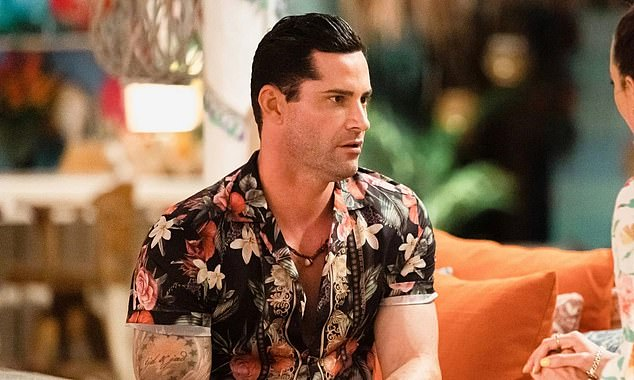 """Taking action: 'Don't assume that my legal case against Channel 10 and Warner Bros. is built around an """"edit"""". It's a lot more in-depth and there's a lot more in play here,' he said on social media in August. Pictured is Jamie on Bachelor In Paradise"""
