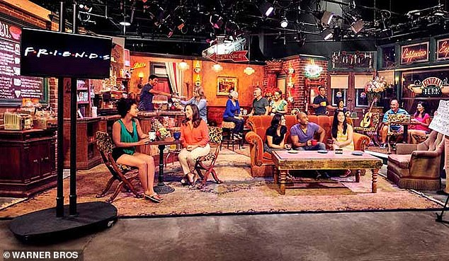 Coffee? Central Perk's set is still in tact at Warner Bros, and is part of the studio tour. The real coffee house soundstage - not a replica - can be visited when the tour is open to the public [currently shut amid the pandemic]