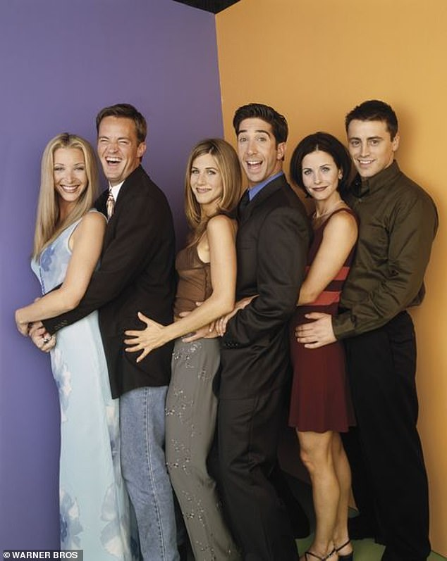 Back together: Lisa Kudrow, Matthew Perry, Jennifer Aniston, David Schwimmer, Courteney Cox and Matt Le Blanc are set to be interviewed about the comedy that propelled them to stardom in 1994 and lasted for 10 years