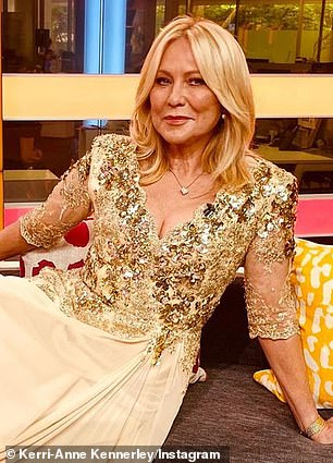Gone: Kerri-Anne Kennerley (pictured), Natarsha Belling and Tim Bailey were three of the stars let go by the station in August last year