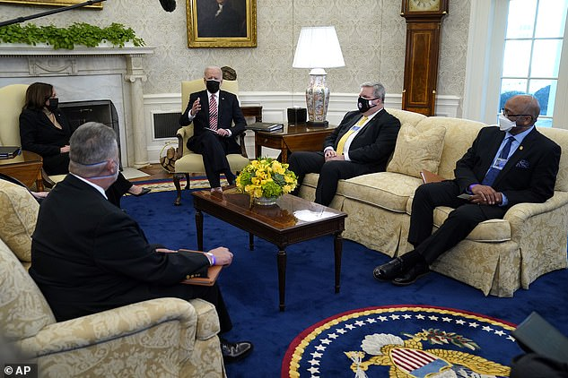 Unions supported Joe Biden during the 2020 campaign and he repaid their loyalty by hosting labor leaders in the Oval Office in February