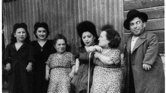 The Romanian inmates appeared in the 'Dr Mengele Dwarf Show' after becoming a source of fascination for the deranged Nazi doctor Josef Mengele, dubbed the 'Angel of Death' by inmates