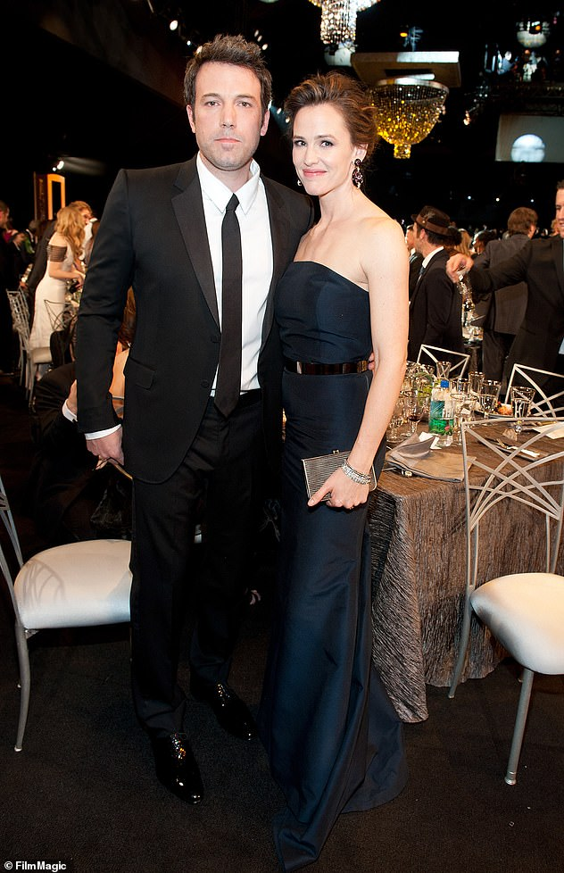Ex: Jennifer said she doesn't seen marriage in her future six years after her split from Ben Affleck in 2015 as they finalized their divorce three years later in 2018 (pictured in 2014)