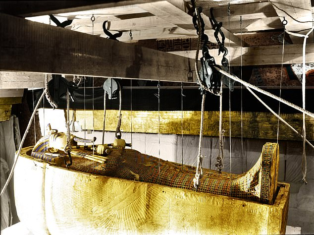 The Pharaoh's curse came about following the death of more than 20 people working to uncover the secrets of Tutankhamun's tomb in 1922