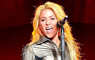 This year Hipgnosis bought music rights from Blondie, Neil Young and Shakira (pictured)