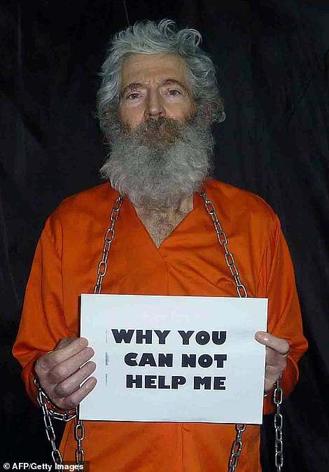 The alleged plot tries to enlist Gaetz's financial backing - to the sum of $25 million - to pay to free Robert Levinson (above), who was captured 14 years ago in Iran and whose family said they were told he was dead