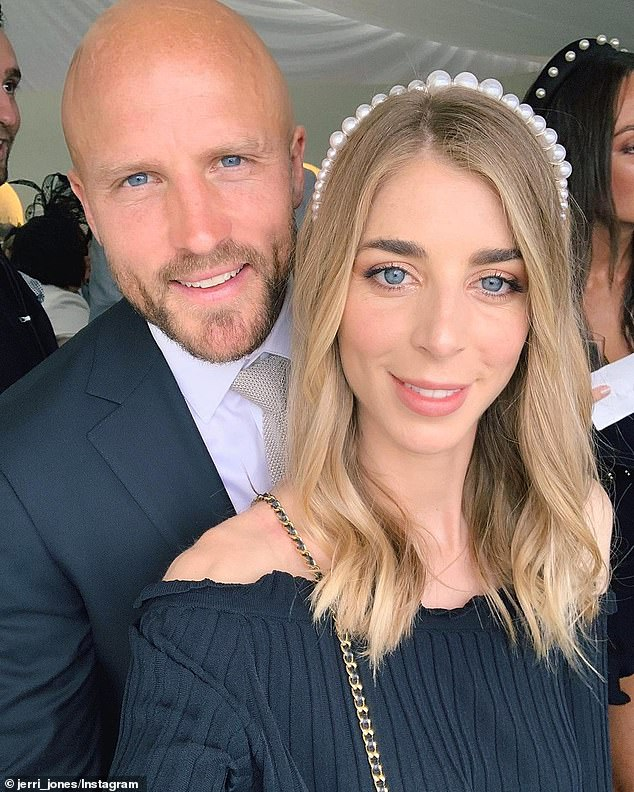 Heartbreaking: Last October, the wife of Melbourne Demons veteran Nathan bravely revealed she'd suffered three consecutive miscarriages. She shared her private pain, which at the time coincided with International Pregnancy and Infant Loss Remembrance Day