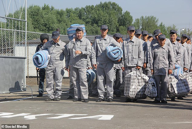 Convicts in Ust Kamenogorsk prison in north-eastern Kazakhstan, where chemical castrations are carried out