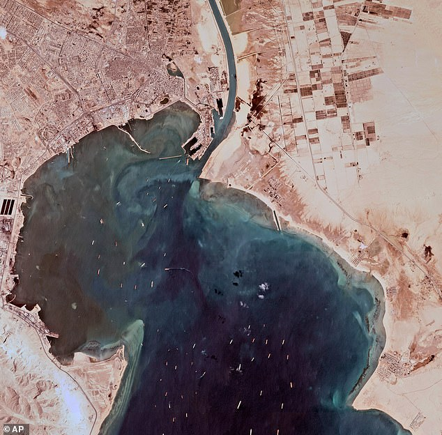 The Suez Canal is one of the busiest shipping lanes in the world as it creates the shortest distance for vessels to cross from the Indian Oceans into the Atlantic taking roughly 16 hours